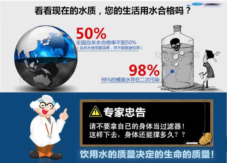桶装水污染图片